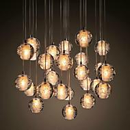 3 Závěsná světla ,  moderní - současný design Pochromovaný vlastnost for Křišťál KovObývací pokoj Jídelna dětský pokoj vstupní chodba