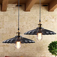 Retro Classic European Style Pendant Lights Dining Room Metal Art Droplight Give 40w Bulb Diameter 42CM