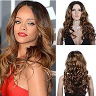 premierwigs ombre de style 8a rihanna t couleur vague brésilienne naturelle pleine dentelle perruques de cheveux humains vierges dentelle