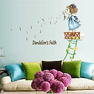 Botanical / Fashion / People Wall Stickers Plane Wall Stickers , PVC 50cm*70cm