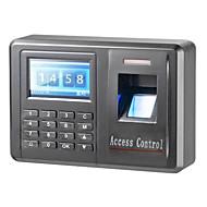 """1.8 """"TFT abs shell 125KHz RFID&identificação senha de impressão digital presenças máquina acesso"""