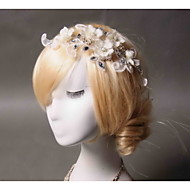 Women's Rhinestone / Tulle / Fabric Headpiece - Wedding / Special Occasion Headbands 1 Piece