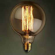 E27 60W fil rectiligne gros bulbe de l'ampoule Edison G125 rétro ampoules décoratives