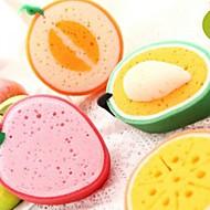 Lovely Fruit Strong Decontamination Sponge (Random Color)