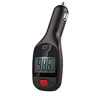 12v ~ 24v trådløs bil mp3-afspiller Bluetooth FM-sender bilsæt med mikrofon hånd gratis opkald TF kort