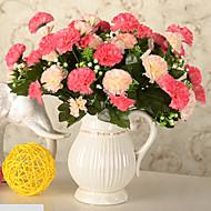 Silk / Plastic Carnation Artificial Flowers