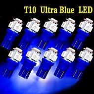 10 х ультра-синий T10 5-SMD 5050 привело интерьер лампочки W5W 158 192 2825 194 168