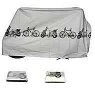 Bike Cover ( Blanc / Gris , Nylon ) Etanche -Cyclisme/Vélo / Vélo tout terrain / Vélo de Route / VTT / Motocross / Bike Gear fixe /