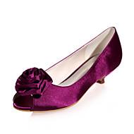 Chaussures de mariage - Noir / Bleu / Violet / Ivoire / Blanc / Argent / Champagne - Mariage / Soirée & Evénement - Bout Ouvert - Sandales