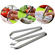 Stainless Steel Fish Bone Remover Pincer Puller Tweezer Tongs Kitchen Craft Pig Hair Remover