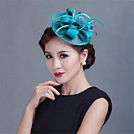 Women Wedding Party Sinamay Feather Fascinators
