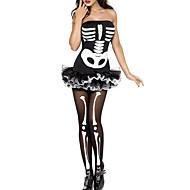 Women's Fever Skeleton Halloween Costume