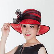 Mujer Lino Celada-Boda / Ocasión especial / Casual / Al Aire Libre Sombreros 1 Pieza about 56-58cm