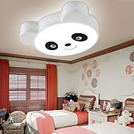 Max 48W Montagem do Fluxo ,  Contemprâneo Pintura Característica for LED Metal Quarto / Quarto das Crianças