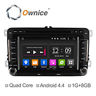 Android 4.4 Quad Core 7 Inch 2 Din In-Dash Car DVD Player for Volkswagen VW Golf Polo Jetta Touran GPS Navigation