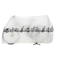 אופניים כיסוי לאופניים רכיבה על אופניים / אופני הרים / אופני כביש / BMX / אופניים הילוך קבוע / רכיבת פנאי חסין מים אפור / לבן ניילון 1-#