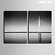 Arkitektur Canvastryck Två paneler Redo att hänga , Vertikal