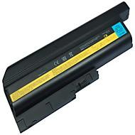 9 cell batteri til IBM Lenovo ThinkPad T60 t60p SL300 SL400 SL500 R500 T500 W500 r60 r60e r60i R61 r61e t61i T61
