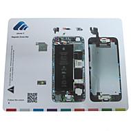 Magnetschraube Matte Techniker Reparaturauflage Leitfaden für iphone 6