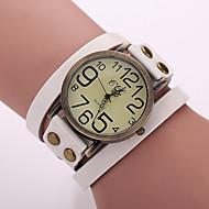 Women's Watches Vintage Digital Display Leather Quartz Strap Watch Bracelets Watches Cool Watches Unique Watches Fashion Watch