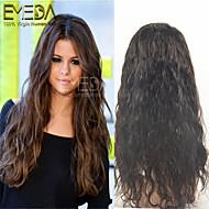 cordón del pelo humano pelucas brasileño cordón de la onda del pelo virginal delanteros / pelucas llenas del cordón para las mujeres