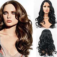 22inch Lace Front Hair Wigs Wavy Style Human Hair Malaysian Virgin Hair 100% Human Hair Lace Front Wigs for Women