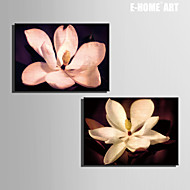 Botânico Impressão em tela Dois Painéis Pronto para pendurar , Vertical