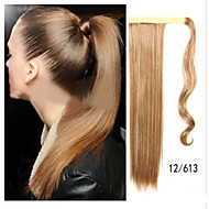 Charming  Blonde Straight Horsetail Hair Extensions