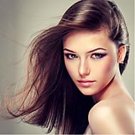 שיער תחרה מלא 18inch פאות פאות שיער אדם ישרות מלזיות בתולת שיער 100% שיער אדם תחרה מלאה לנשים