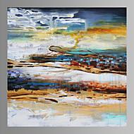 Fantasia / Extravagante / Moderno / Romântico / Pop Art Impressão em tela Um Painel Pronto para pendurar , Quadrada