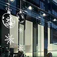 Vánoční okno nálepka moderní, art deco čtyřicet dva centimetry