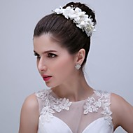 Women's Imitation Pearl / Acrylic Headpiece - Wedding / Special Occasion Flowers 1 Piece with hairpins