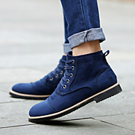 Men's Shoes Outdoor / Office & Career / Party & Evening / Athletic / Casual Suede Boots Black / Blue / Burgundy