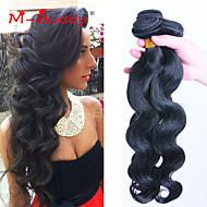 "3Pcs/Lot  8""-30"" Brazilian Virgin Hair Body Wave Unprocessed Brazilian Virgin Hair Brazilian Hair Bundles"