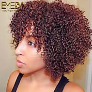 lidské vlasy krajka paruky afro výstřední kudrnatý krajky přední paruky brazilské panna vlasy Plný krajka paruky pro černé ženy, 10 '' -