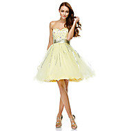 TS Couture® Cocktail Party Dress - Daffodil A-line Sweetheart Knee-length Tulle