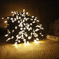 King Ro 8M 60LED Solar String Lights Christmas Decoration Outdoor Waterproof Lights
