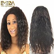 nuevo cordón de la manera del pelo humano pelucas delanteras del cordón del pelo virginal / pelucas llenas del cordón para las mujeres
