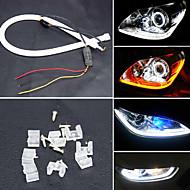 yobo 6w 450-550lm 60mm Tagfahrlicht weiß / gelb / blau / rote Farbe High Power Auto LED-Licht-Lampe (12 V DC / 2ST)