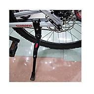 MTB Bicycle Adjustable Aluminum Alloy Tripod Parking Bracket(Black)