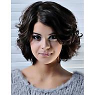 8-12 tum kortsida del peruk remy människohår populär stil spets front peruker hög beröm peruk för kvinnor