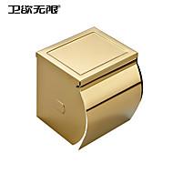 weiyuwuxian® Vergoldung dickem Edelstahl wasserdichte Gewebehalter