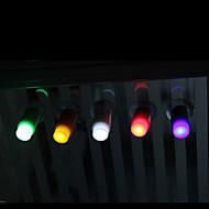 夜の光ロマンチックなバーの家の装飾の子供(ランダム色)LEDライトミニ吸盤プッシュに触れます