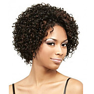 Fashion African Short Hair Curly Black Color Synthetic Wigs