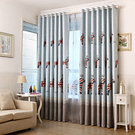Two Panels Horse Kids Blackout Printing Curtains Shades