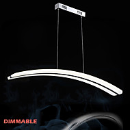 Dimmable Acrylic Pendant Light LED Chandeliers Lighting Lamp Fixtures with Dining room AC100 to 240v CE FCC ROHS