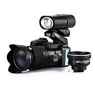 """ezapor fotocamera digitale LC33 16 mp 16x digitale con zoom 21x ottico teleobiettivo zoom, 3,0 """"di larghezza lente angelo lcd"""