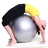 55cm / 75cm Fitnessball PVC Rosa / Grau / Dunkelblau / Purpur Damen 55-75