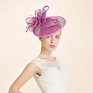Women's Wool Headpiece-Wedding / Special Occasion Headbands 1 Piece Head circumference  57cm