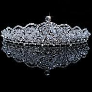Donne Strass / Cristalli / Lega Copricapo-Matrimonio / Occasioni speciali Tiare 1 pezzo
